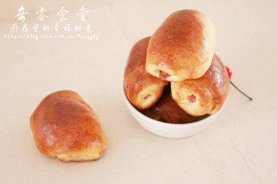 肉松红肠小面包之面包机版