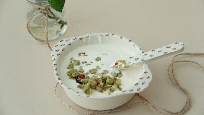 淡奶油版自制酸奶