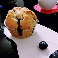 爆浆低脂蓝莓麦芬蛋糕