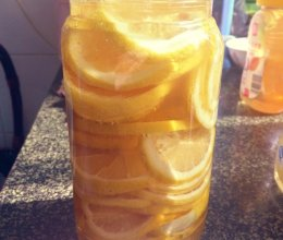 自制蜂蜜柠檬片茶的做法