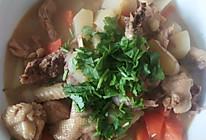 整鸡炖土豆的做法
