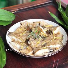 #快手又营养,我家的冬日必备菜品# 清蒸塔沙鱼