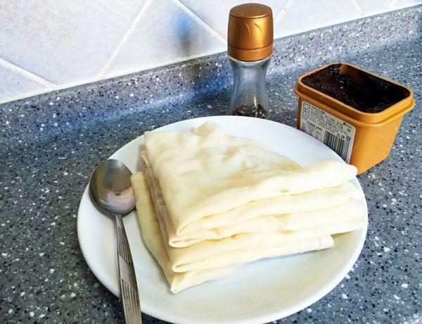 安徽年夜饭必备—水烙馍的做法