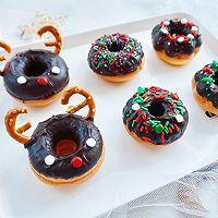 甜美可爱的圣诞甜甜圈#安佳烘焙学院#的做法图解15