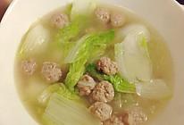 小肉丸白菜粉丝汤的做法