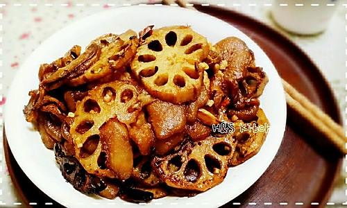 <下饭菜>莲藕炒茄子的做法