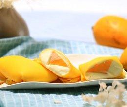 芒果班戟——迷迭香的做法