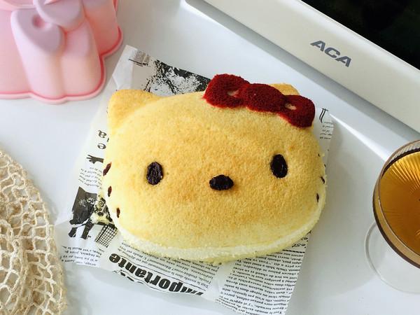 KITTY夹心蛋糕的做法