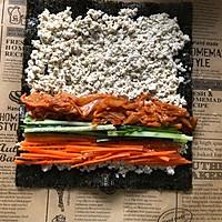 减脂吃❗关晓彤同款低卡无米寿司❗超饱腹❗的做法图解8