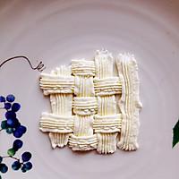 6寸水果奶油花篮裱花蛋糕(附戚风蛋糕制作)的做法图解23