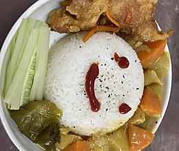 轻食咖喱鸡肉的做法