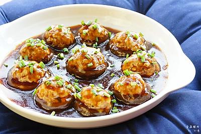香菇酿肉#美极鲜味汁#