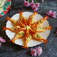花开富贵芝士焗大虾#秋天怎么吃#的做法图解15