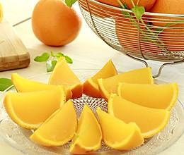 柳橙果凍 ~ 酸甜解渴!的做法