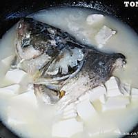 鱼头豆腐汤 的做法图解6