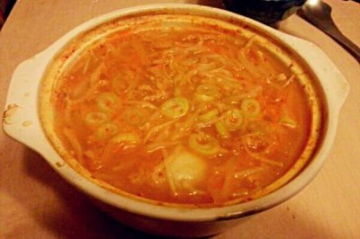 豆芽大酱汤(减肥餐)
