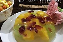 夏日甜品水果布丁的做法