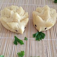 奶香玉米面刺猬小馒头