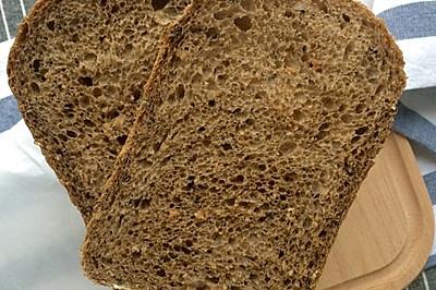 裸麦杂粮法式面包(无油、奶、蛋、糖)