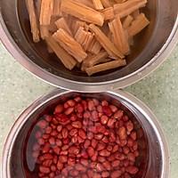 腐竹花生米拌黄瓜的做法图解1