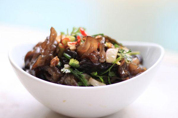 健康美味之XO酱木耳凉拌菜的做法