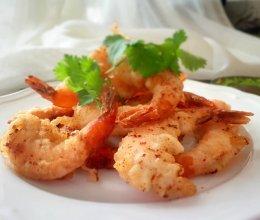 外脆里嫩的炸虾的做法
