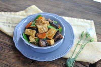 鸡汁豆腐#太太乐鲜鸡汁中式#