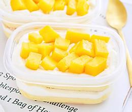 #520,美食撩动TA的心!#芒果盒子蛋糕的做法