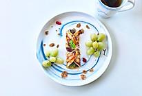 葱油饼的早餐#中式减脂餐#的做法