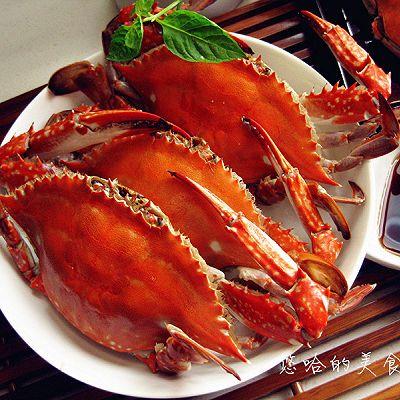 原汁原味--清蒸螃蟹