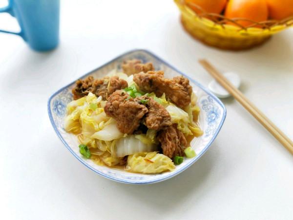 白菜炖鱼块的做法