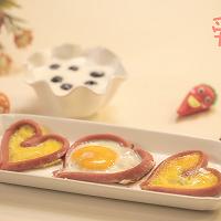 爱心鸡蛋#爱的味道#的做法图解4