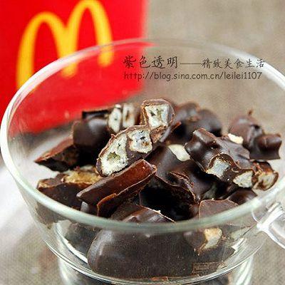 薯粒巧克力