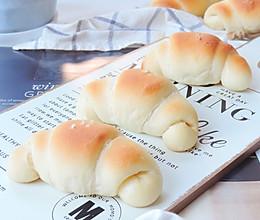 海盐牛角面包的做法