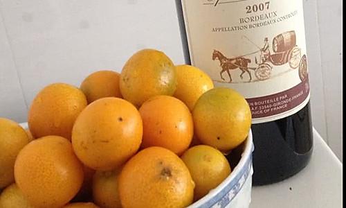 红酒金橘的做法