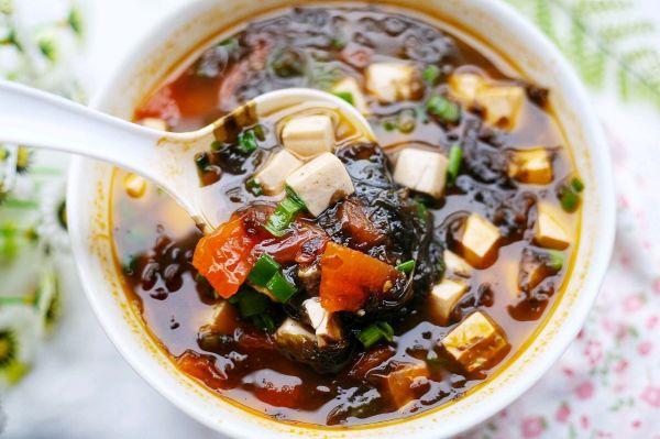 紫菜番茄豆腐汤的做法