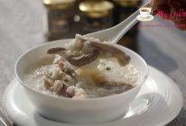 猪肚阴米粥---冬季暖身的做法