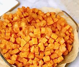 炸红薯(外酥里嫩香甜可口)小时候的味道!的做法