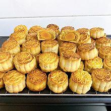 #中秋团圆食味# 广式月饼—蛋黄莲蓉月饼