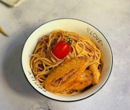 #一勺葱伴侣,成就招牌美味#沙姜鸡丝凉面的做法