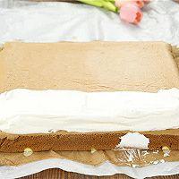 长颈鹿蛋糕卷的做法的做法图解12