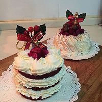 红丝绒奶油蛋糕/卷