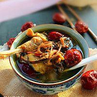 茶树菇鸡汤的做法图解7