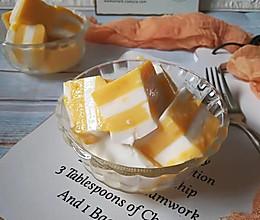 芒果酸奶糕的做法