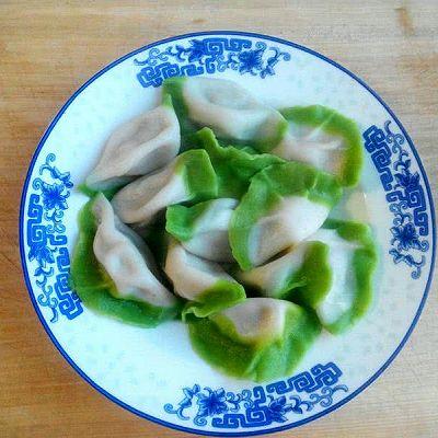 白菜(百财)水饺