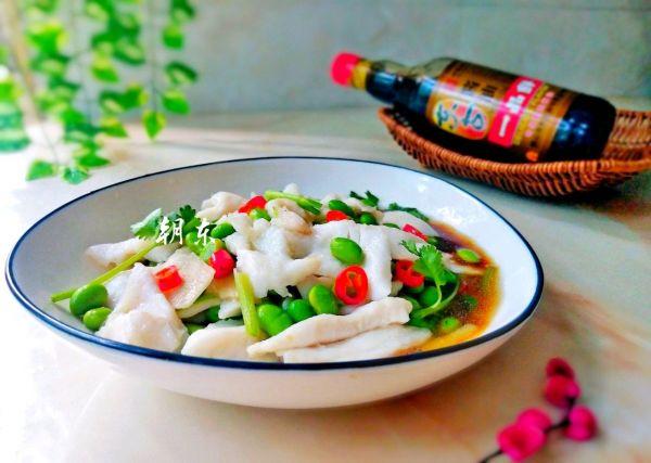 青豆鱼片的做法