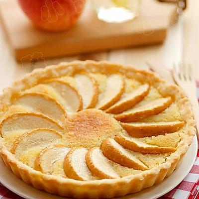 杏仁奶油苹果派