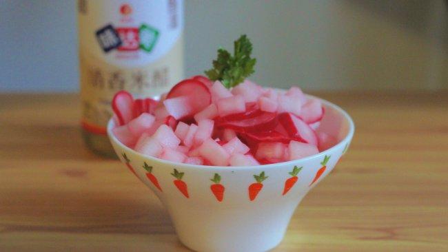 夏季開胃菜之浸漬蘿蔔的做法