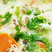 奶白豆腐鱼汤