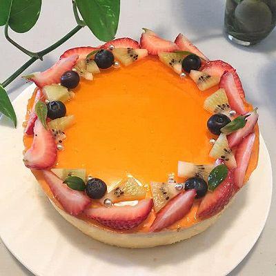 【三重芒果慕斯】—简单美味的高颜值甜品